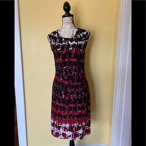 Apt. 9 Size Medium Cap Sleeve Dress
